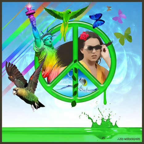 Peace and love – Digital Art | | Photoshop Design | Scoop.it
