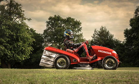 The world's fastest lawn mower: 130 mph of top speed! | Hashslush --- Design, Technology, Social Media, Advertising, Mobile, Gadgets | Scoop.it