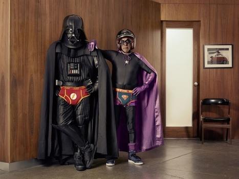Darth Vader Befriends Superhero Grandpa | And Geek for All | Scoop.it