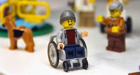 Ready to roll! Lego breaks down barriers with new wheelchair figure | Kickin' Kickers | Scoop.it