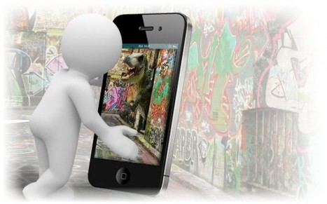 Aurasma lets iPhone users create and view augmented reality 'Auras' | Augmented Reality News and Trends | Scoop.it