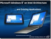 Intel bets on Windows 8 and guarantees touch screen manufacturers sales - Mobility Digest - Mobility Digest | Windows 8 Debuts 2012 | Scoop.it