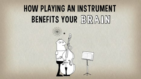 How playing an instrument benefits your brain - Anita Collins - YouTube | Psykologia 3 | Scoop.it