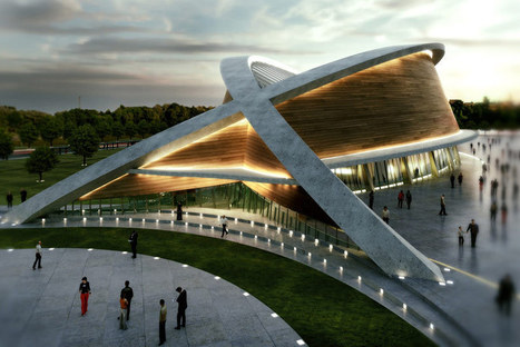 DOS architects: olympic swimming pool in kurdistan | Swim | Scoop.it