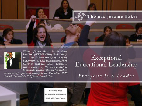 Congratulations Thomas! You've successfully published on the Kindle Store: Exceptional Educational Leadership | Authorship | Scoop.it