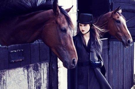 Rasa Zukauskaite Models Equestrian Fashion for Marie Claire ... | Equinista | Scoop.it