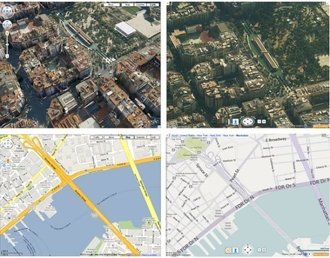 Bing Maps y otras alternativas, ¿hay rival para Google Maps? | E-Learning, M-Learning | Scoop.it