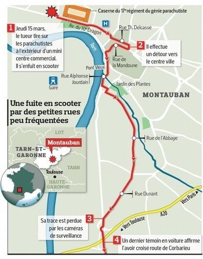 Montauban: le tueur de militaires traqué sur Internet   Toulouse La Ville Rose   Scoop.it