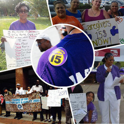 Home Care Workers: We're Ready to Fight for $15! - SEIU   Labor and Employee Relations   Scoop.it