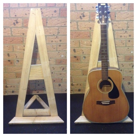 Pallet Guitar Stand | Cool Crafts | Scoop.it