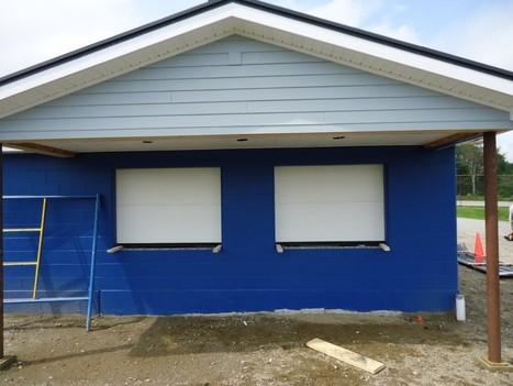 Belfast Area High School Has New Concession Stand Counter Windows Installed - Bangor Daily News | aluminum garage door | Scoop.it