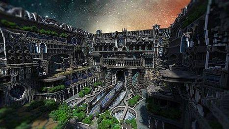 PixeledMe Minecraft | Center Of Valhalla Minecraft World Save | Minecraftedu | Scoop.it