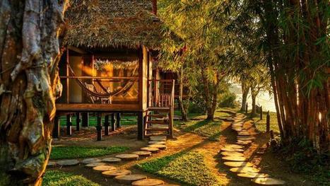 Du Maroc à l'Amazonie, cinq hôtels vraiment écologiques   Les plus beaux spas du monde   Scoop.it