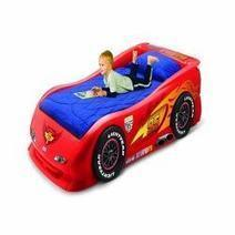 Lightning McQueen Race Car Bed | Bedroom Decor | Scoop.it