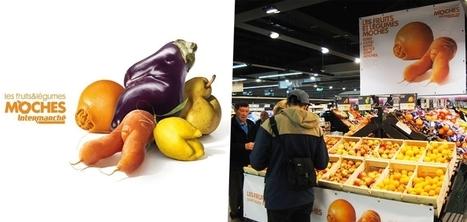 Intermarché crée un rayon destiné aux fruits et légumes moches pour éviter le gaspillage | Marchés forains : au coeur de la solidarité, de l'écologie et du dynamisme économique et culturel | Scoop.it