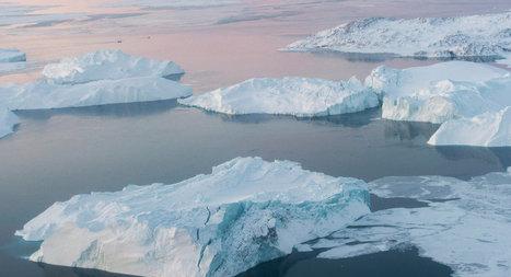 Le Groenland relâche un gigantesque iceberg | Chronique d'un pays où il ne se passe rien... ou presque ! | Scoop.it