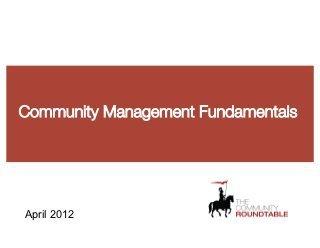 Community Management Fundamentals | Social Media & Community Management | Scoop.it