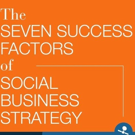 Q&A: The 7 Success Factors of Social Business Strateg | Entrepreneurial Coaching | Scoop.it