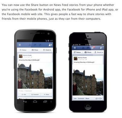 Nouveautés Application Facebook : le Tag, le Bouton «Partager» et les Smileys.   Emarketinglicious.fr   iMehdia Digital Marketing   Scoop.it
