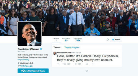 Obama's Twitter Debut, @POTUS, Attracts Hate-Filled Posts | Back Chat | Scoop.it