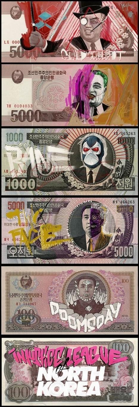Corée du Nord : les billets à l'effigie de l'Injustice League | Corée du Nord, la provocatrice | Scoop.it