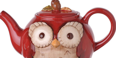 Whimsical Owl Teapots | Cats & Teapots | Scoop.it