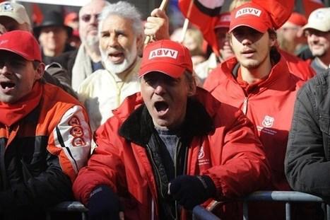 ABVV: 'Verhoging pensioenleeftijd kaakslag aan de democratie'   De vakbond is nodig. Vandaag meer dan ooit!   Scoop.it