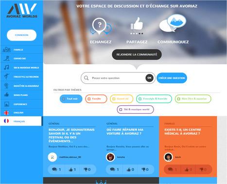 Avoriaz Worlds - Un site intéressant de partage d'expériences et d'avis entre usagers ! | World tourism | Scoop.it