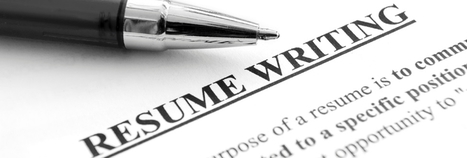 What's new in Resume writing? | Dissertation Online UK | Scoop.it