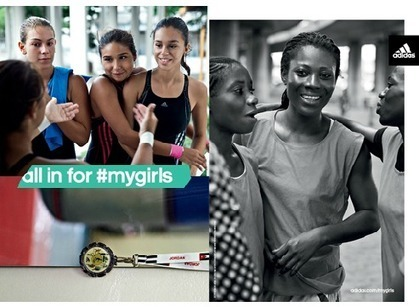 Adidas: All in for #MyGirls Campaign Seek to Bring Girls Together With New Brand Direction | Adidas et Nike : vers une cible féminine | Scoop.it