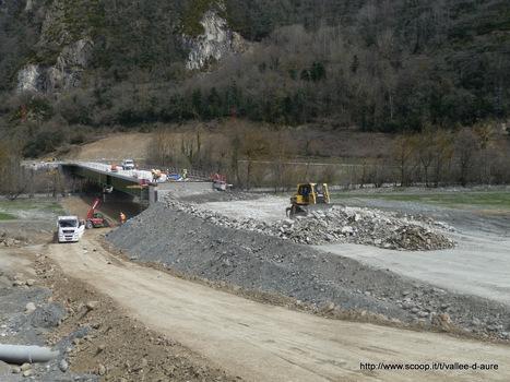 Déviation de Cadéac : les travaux avancent ...   Vallée d'Aure - Pyrénées   Scoop.it