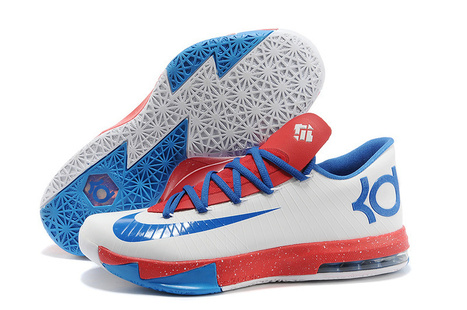 Cheap Nike KD VI White Blue Red - Cheap Nike Frees,Cheap Nike Free Run 3,Cheap Free Runs,Cheap Nike Free 5.0 V2,Cheap Nike Free 4.0 V3,Cheap Nike Free 3.0 V5! | cheap kd 6,cheap nike kd vi shoes release on www.cheapnikefrees.biz | Scoop.it