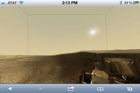 Take a virtual tour of Mars on your iPhone or iPad | Good news from the Stars | Scoop.it