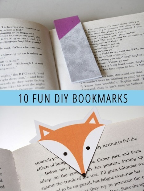 10 Fun DIY Bookmarks - Babble | Pc Applications | Scoop.it