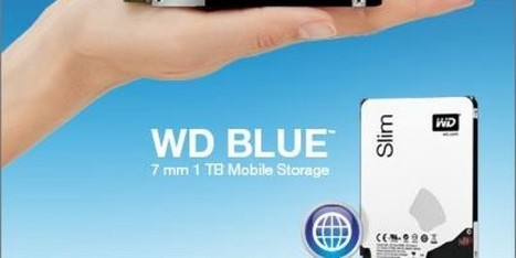 Western Digital (WD) Brings World's Thinnest Laptop Hard Drive | Geeks9.com | Technology | Scoop.it