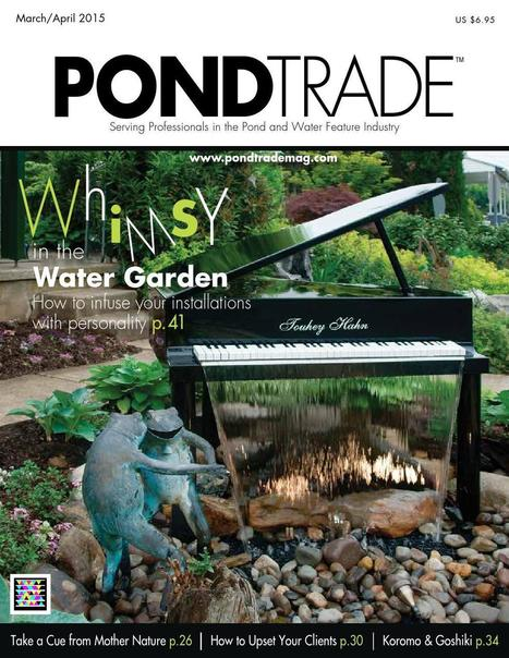 MAGAZINE: Pond Trade - March / April 2015 | Aquaculture and Fisheries - World Briefing | Scoop.it