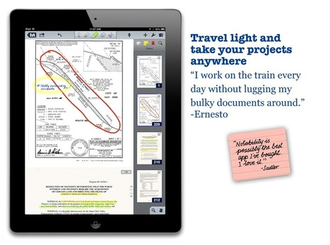 Notability - note and voice recording.   Digital Artifacts that Engage Students   Scoop.it