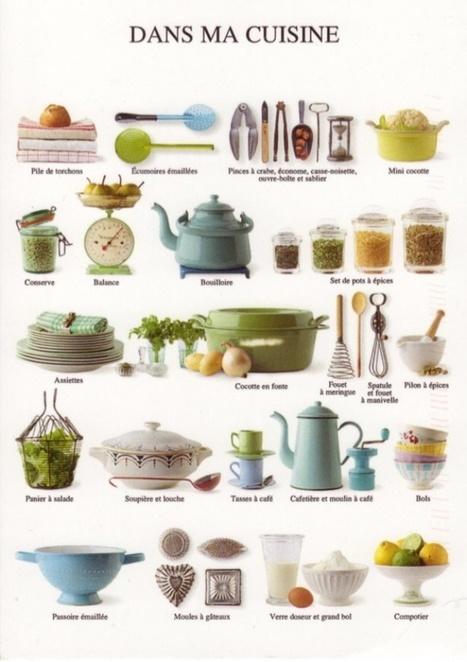 Vous aimez cuisiner ? Voici quelques ustensiles... | le français à table | Scoop.it