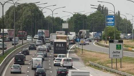 Eén defecte vrachtwagen in Jette stort ochtendspits rond Brussel in chaos | MaCuSa kris | Scoop.it