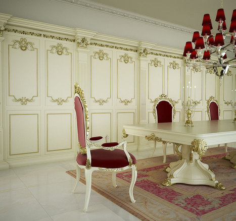 3D Classic furniture Catalog - - 3D Rendering   News from Italy about Design & 3D Graphic   Scoop.it