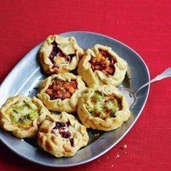 Free-Form Tarts Vegetarian Recipe | Food for Foodies | Scoop.it