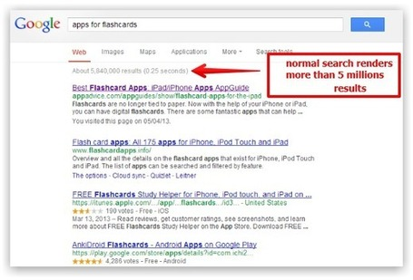 Teacher's Simple Tutorial on How to Search for Apps on Google | iGeneration - 21st Century Education | Scoop.it