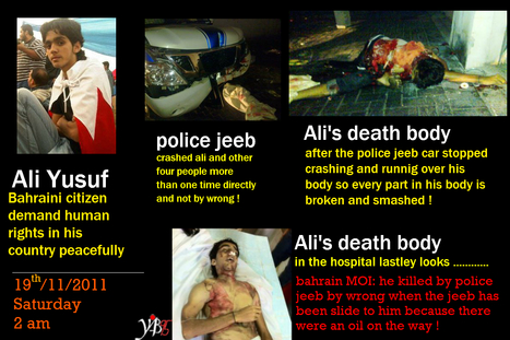 Ali Yusuf :  freedom martyr in Bahrain | Human Rights and the Will to be free | Scoop.it