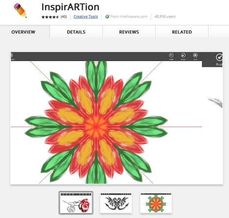 InspirARTion - Drawing application | Pedalogica: educación y TIC | Scoop.it