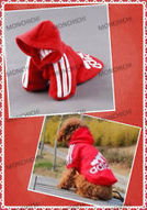 New Red Pet Puppy Dog Clothes Hoodies Sweater T-Shirt Size S,M,L,XL,XXL | Dog Fashion | Scoop.it