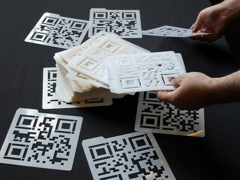 QR Codes for Digital Nomads - Interactive Art by Golan Levin and Collaborators   3d printers and 3d scanners   Scoop.it