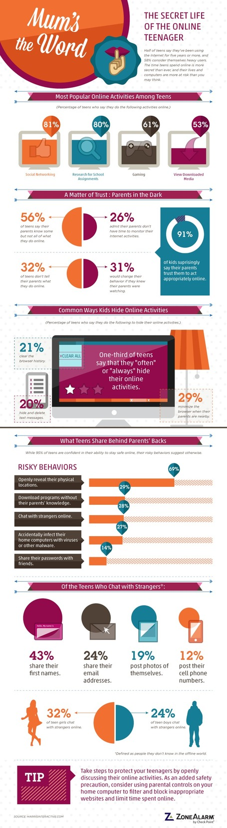 The Secret Online Life Of Teenagers [Infographic] | Leveraging Information | Scoop.it