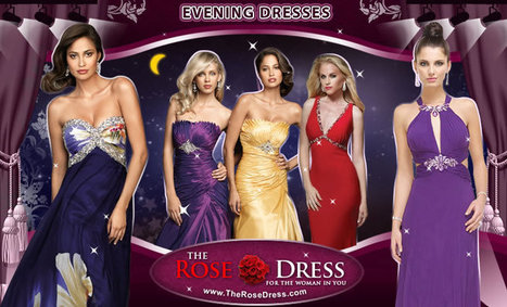 Evening Dresses, Formal Evening Gowns (Selection, FastShip, Price, Service) at TheRoseDress | event dresses and jewelry | Scoop.it