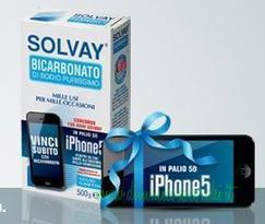 "CONCORSO A PREMI: ""150 ANNI SOLVAY"" – VINCI IPHONE 