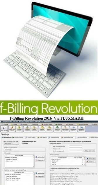F-Billing Revolution 2016 version gratuite logiciel professionnel de facturation TPE | Actualités Top | Scoop.it